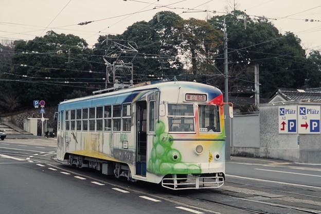20010109岡山電軌3005@東山