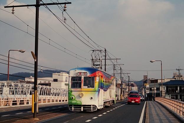 20010109岡山電軌3005小橋ー西大寺町