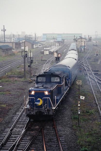Photos: 19970822カートレイン北海道@長万部