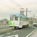 20010109岡山電軌3005東山行き@小橋―西大寺町