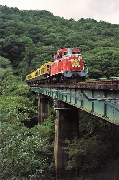 鉄橋を行く「ジャーニー八ヶ岳」