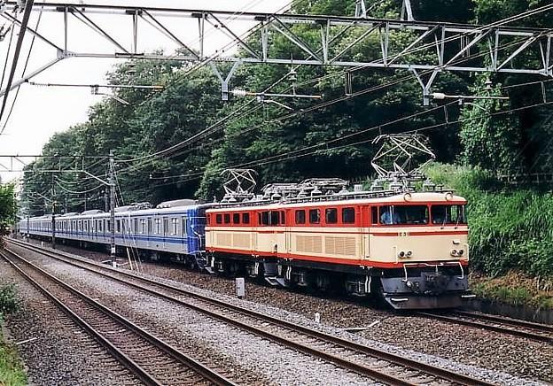 Photos: E31+E32重連+西武20000系甲種輸送列車