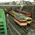 Photos: E31と西武101系とJR103系