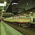 Photos: 西武多摩川線用101系の検査入場回送列車