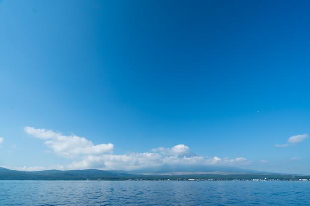 02富士五湖巡り【山中湖から見た富士】1