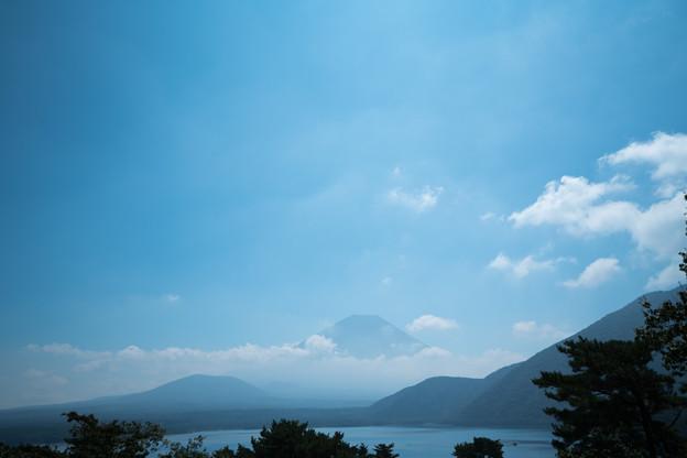08富士五湖巡り【本栖湖から見た富士】