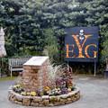 10YEG【「優秀庭園賞記念碑」付近のハロウィン飾り付け】2銀塩NLP