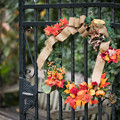 15YEG【「優秀庭園賞記念碑」付近のハロウィン飾り付け】7