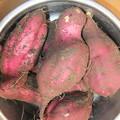 Photos: 薩摩芋を掘ってみました 2株
