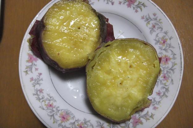 Photos: 蒸した薩摩芋