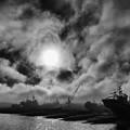 Photo: 船揚場の空