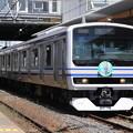 成田線開業120周年記念列車