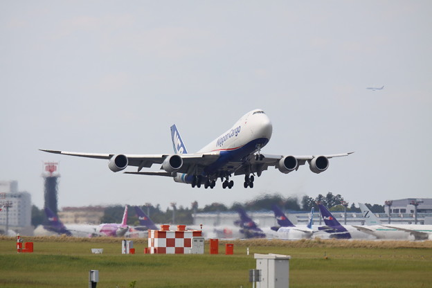 NCA Take off !!