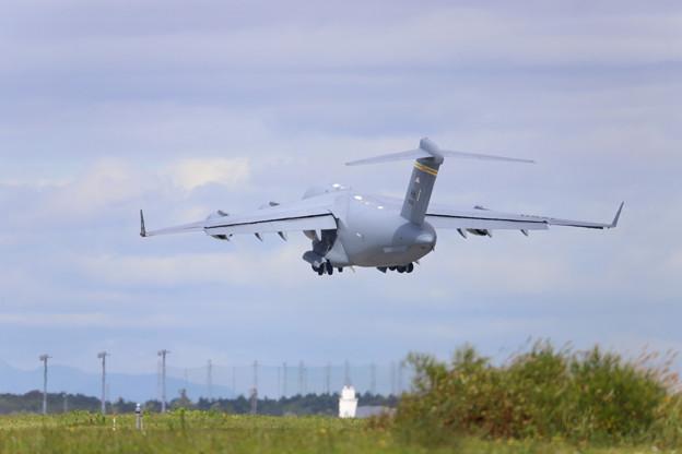 C17輸送機  離陸-1