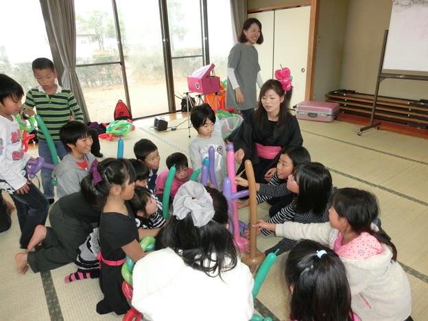 バルーンアート体験教室