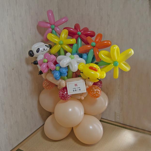 バルーンアートのお花