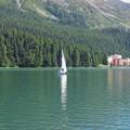 サンモリッツ湖