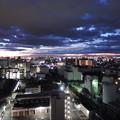 川崎の夜明け