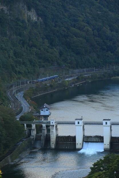 2021年10月23日 綾戸ダム俯瞰