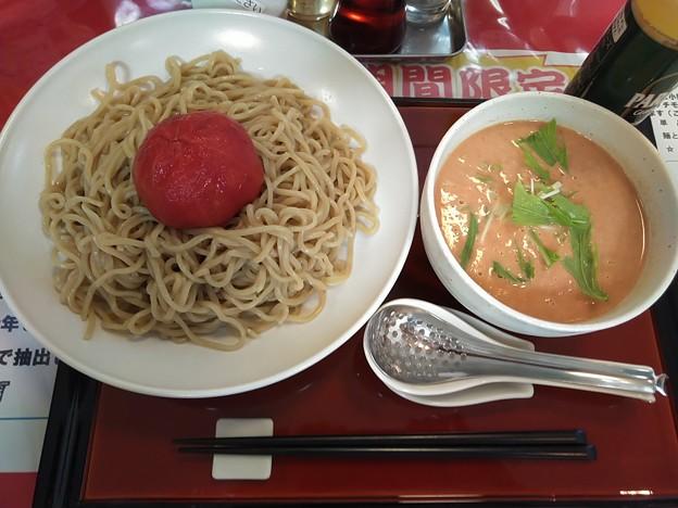 トマト担々つけ麺