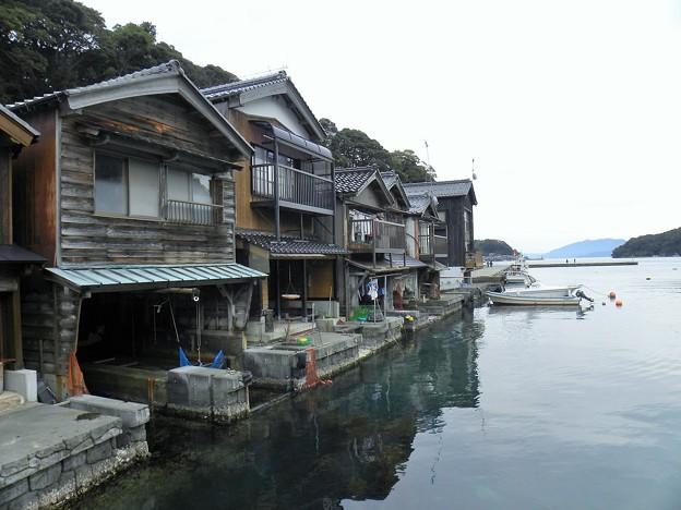 伊根舟屋の風景