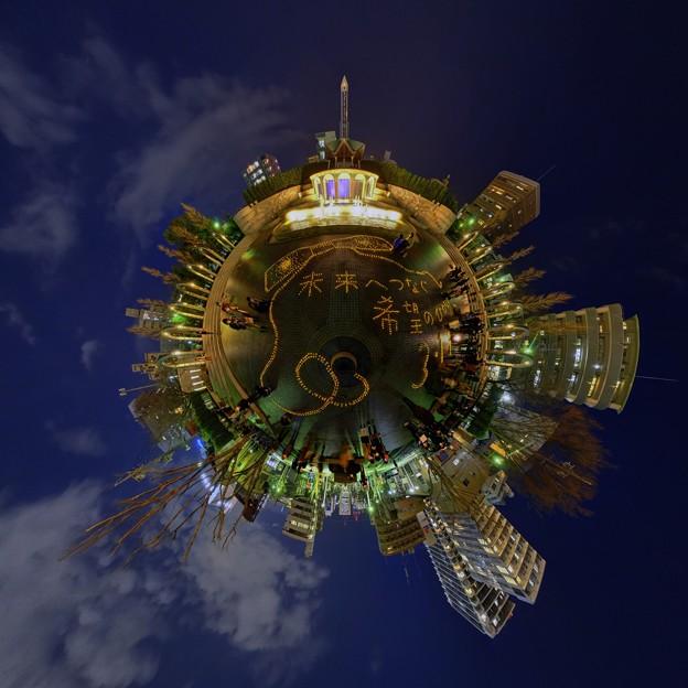 キャンドルナイト ― 2011年3月11日の記憶の為に 常磐公園 Little Planet