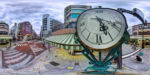 静岡市 呉服町スクランブル交差点 360度パノラマ写真