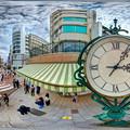 Photos: 静岡市 呉服町スクランブル交差点 360度パノラマ写真