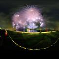 清水みなと祭り 海上花火大会 360度パノラマ写真