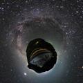 Photos: 奥大井レインボーブリッジ 星空  Little Planet