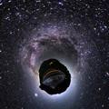 奥大井レインボーブリッジ 星空 Little Planet