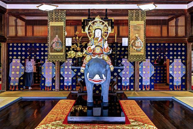 臨済寺本堂 摩利支天像(座禅堂安置の摩利支天像の複製) (特別公開 2021年10月15日)