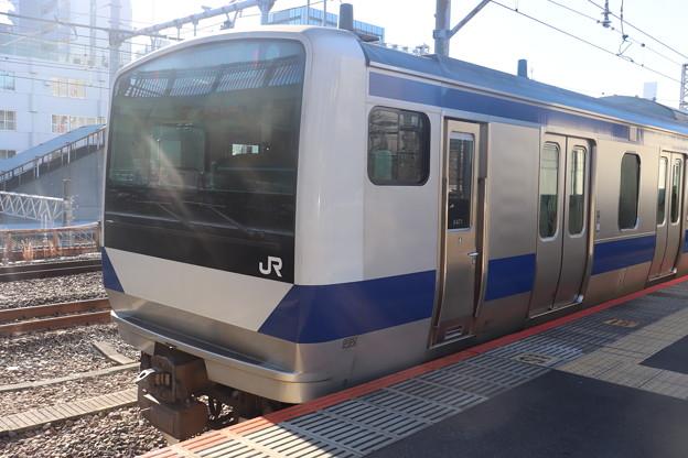 常磐線 E531系K471編成
