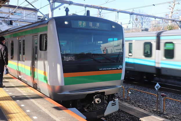 高崎線 E233系3000番台U229編成