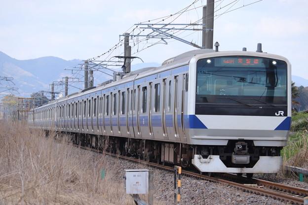 常磐線 E531系K463+K476編成 549M 普通 勝田 行 2021.04.03