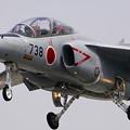 亜音速ジェット機T-4   岐阜基地