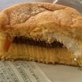 Photos: パンケーキにプリン入れちゃいました 238円ファミマ