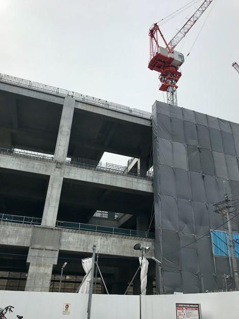 阪急淡路駅連続立体交差工事