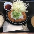 おろしポン酢ロースカツ定食 690円