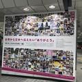 Photos: 台湾からのありがとう   大阪駅構内