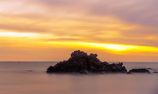 Photos: 静海落日~沈みゆく時の流れの中で~