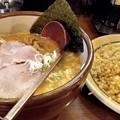 信海味噌ラーメン+半チャーハンセット