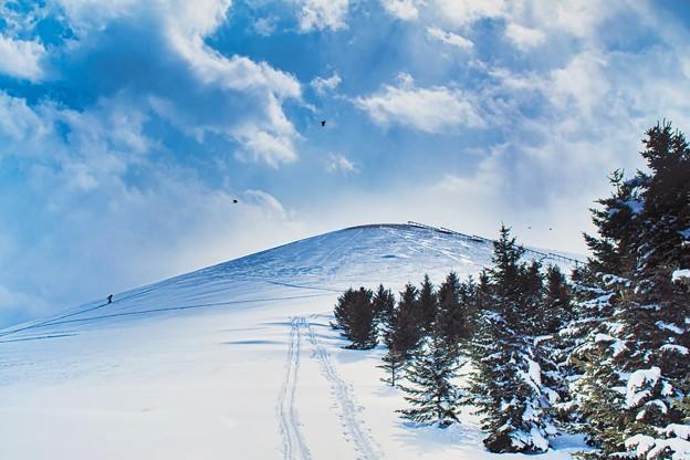 モエレ山 冬百景 > 1