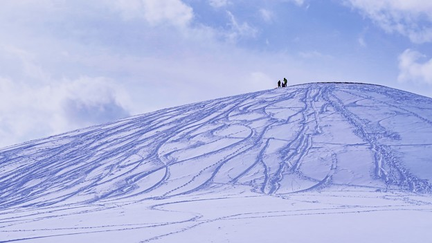 モエレ山 冬百景 > 3