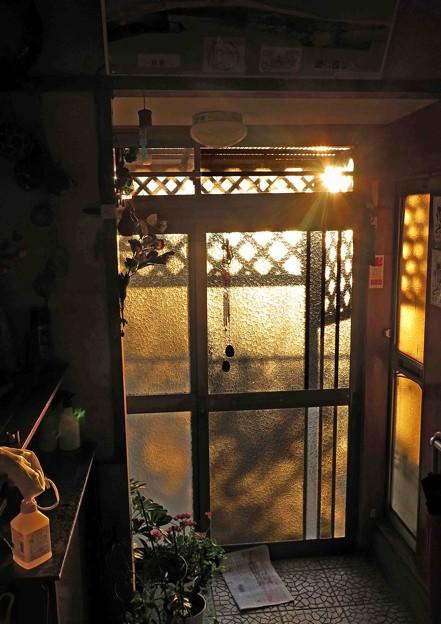 Photos: 今朝の太陽光