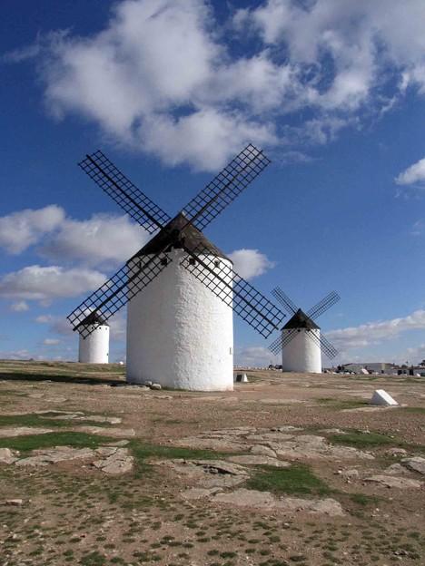 風車のある光景