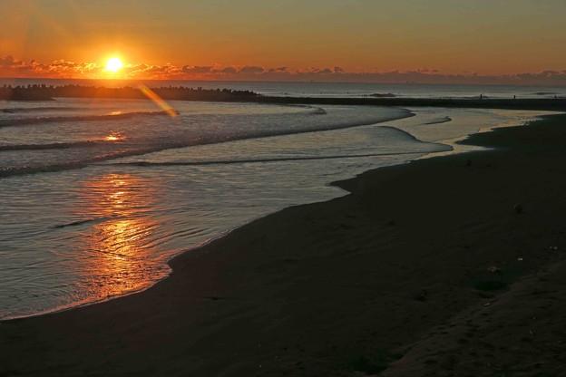 Photos: 鹿島灘の日の出