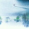 Photos: 春の湖面