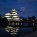 Photos: 「Arrietty's Song」アルトサックスで 国宝 松本城 絵夢島/PIXTA