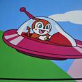 「スワニー」ジョージ・ガーシュウィン テナーサックスで アンパンマンバス 絵夢島/PIXTA
